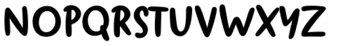 Duffy Script Bold Font UPPERCASE