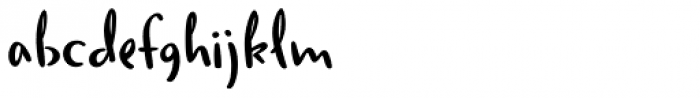 Duffy Script DemiBold Font LOWERCASE