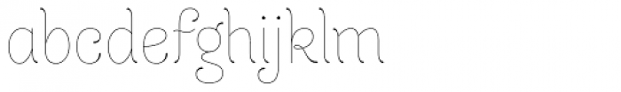 Dulce Essential Font LOWERCASE
