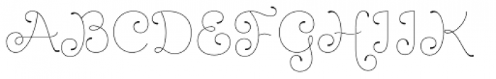 Dulce Pro Font UPPERCASE