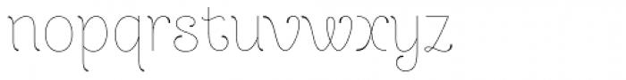Dulce Pro Font LOWERCASE