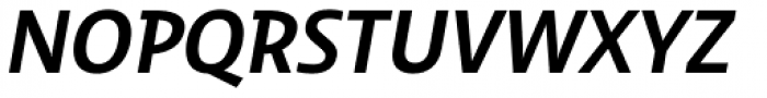 Dulcian Normal Demi Italic Font UPPERCASE