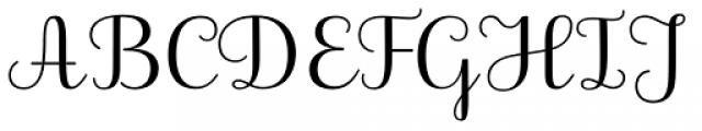 Dulsinea Font UPPERCASE