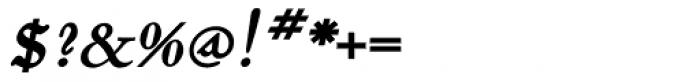 Dumha Goirt Bold Oblique Font OTHER CHARS