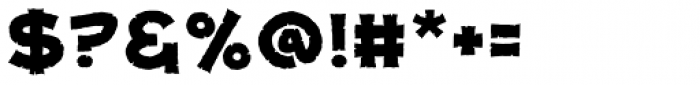 Dungeon Dweller Heavy BB Font OTHER CHARS