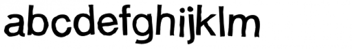 Dunsley Jumbled Font LOWERCASE