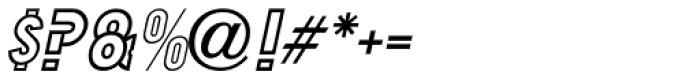 Duonor Oblique JNL Font OTHER CHARS