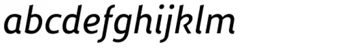 Dupla Demi Bold Italic Font LOWERCASE