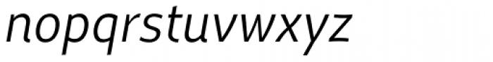 Dupla Italic Font LOWERCASE