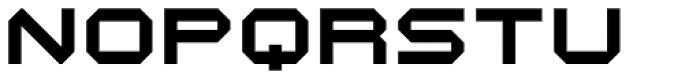 Durandal Flat Font UPPERCASE