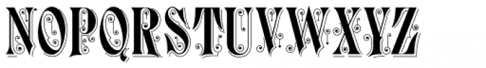 Durham Abbey NF Font UPPERCASE