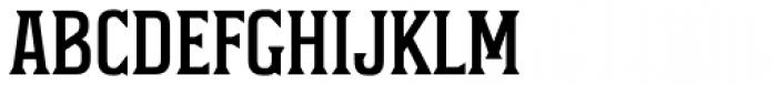 Durham Latin Font UPPERCASE