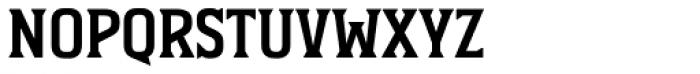 Durham Latin Font LOWERCASE
