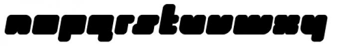 Duro Italic Font LOWERCASE