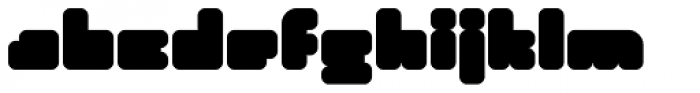 Duro Font LOWERCASE