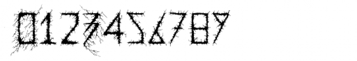 Dusk Swash Font OTHER CHARS
