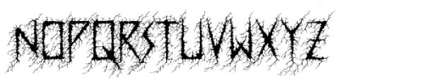 Dusk Swash Font LOWERCASE