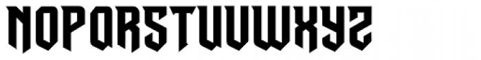 Dusk Till Dawn Risen Font UPPERCASE