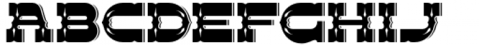 Dusky Pub Regular Font LOWERCASE