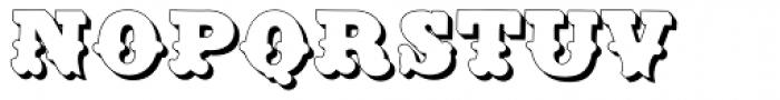 Dusty Circus LTD Font UPPERCASE