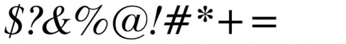 Dutch 801 Italic Font OTHER CHARS