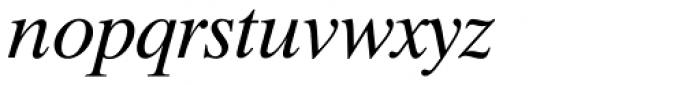 Dutch 801 Italic Font LOWERCASE