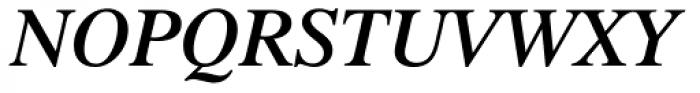 Dutch 801 SemiBold Italic Font UPPERCASE