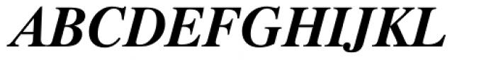 Dutch 801 Std Bold Italic Font UPPERCASE