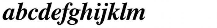 Dutch 801 Std Bold Italic Font LOWERCASE
