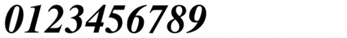 Dutch 801 WGL4 Bold Italic Font OTHER CHARS