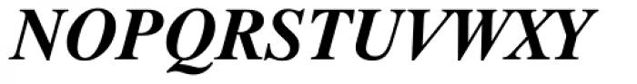 Dutch 801 WGL4 Bold Italic Font UPPERCASE