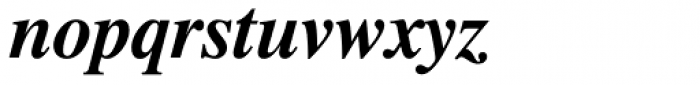 Dutch 801 WGL4 Bold Italic Font LOWERCASE