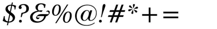 Dutch 809 Italic Font OTHER CHARS