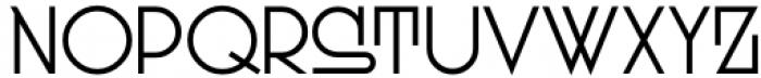 Dutch Deco JNL Regular Font UPPERCASE