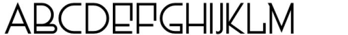 Dutch Deco JNL Regular Font LOWERCASE