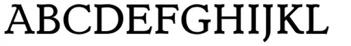 Dutch Mediaeval Book SCOsF Font UPPERCASE