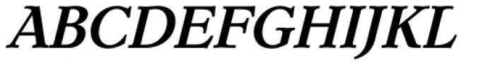 Dutch Mediaeval Pro ST Bold Italic Font UPPERCASE