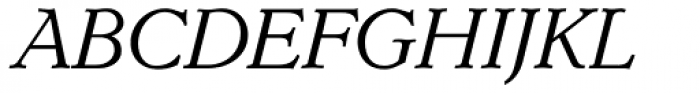 Dutch Mediaeval Pro ST Italic Font UPPERCASE