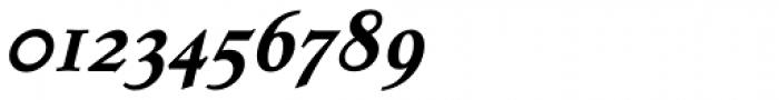 Dutch Mediaeval SCOsF Bold Italic Font OTHER CHARS