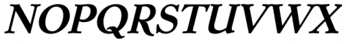 Dutch Mediaeval SCOsF Bold Italic Font UPPERCASE