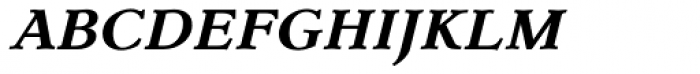 Dutch Mediaeval SCOsF Bold Italic Font LOWERCASE
