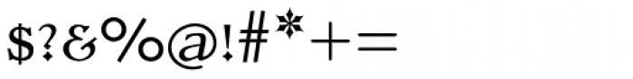 Dutch Mediaeval SCOsF Regular Font OTHER CHARS