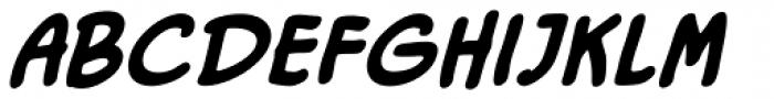 Duty Calls BB Bold Italic Font LOWERCASE