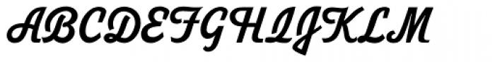 Duvall 4 Font UPPERCASE