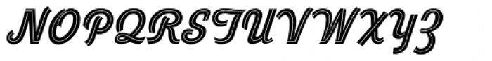 Duvall Style Font UPPERCASE