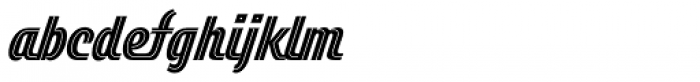 Duvall Style Font LOWERCASE