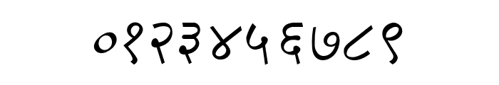DV-TTSurekh Italic Font OTHER CHARS
