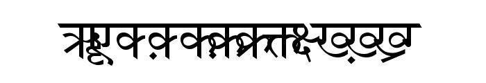 DV-TTSurekh Normal Font UPPERCASE