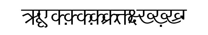 DV-TTYogeshEN Normal Font UPPERCASE