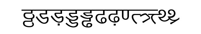 DV-TTYogeshEN Normal Font LOWERCASE